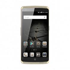 Smartphone ZTE Axon Elite 32GB Dual Sim 4G Gold - Telefon mobil ZTE