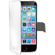 Husa Flip Cover Celly 95599 Agenda alba pentru Apple iPhone 6 - Husa Telefon Celly, iPhone 6/6S
