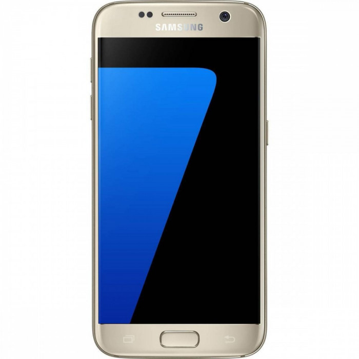 Smartphone Samsung Galaxy S7 32 GB Gold foto mare