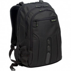 Targus TBB013EU EcoSpruce 15.6 inch Backpack - Black - Geanta laptop Targus, Rucsac, Nailon, Negru