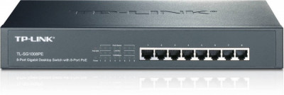 Switch TP-Link TL-SG1008PE 8 porturi foto