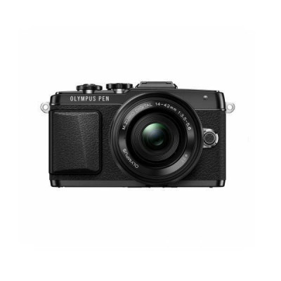 Aparat foto Mirrorless Olympus E-PL7 16 Mpx Black Kit 14 - 42mm Pancake foto