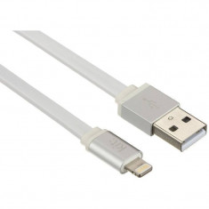Cablu de date Kit IP5USBALUWH Apple Lightning - USB 1m alb
