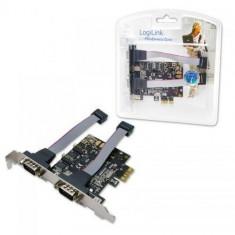 Logilink Adaptor PCI Express 2 x RS232