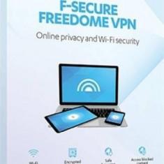 Antivirus F-Secure Freedome VPN 1 An 3 dispozitive