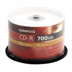 Mediu optic Omega CD-R 700MB 52x 50 bucati