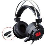 Casti gaming Redragon Siren 2 Black, USB
