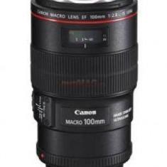Obiectiv Canon Obiectiv foto EF 100 mm/ F2 MACRO IS - Obiectiv DSLR