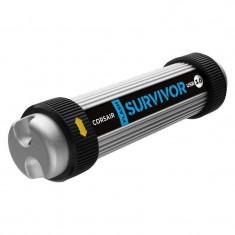Memorie USB Corsair Survivor 128GB USB 3.0 Silver - Stick USB