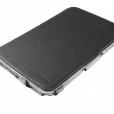 Husa tableta Trust 19436 Stile Hardcover Skin and Folio Stand neagra pentru Samsung Galaxy Note 8.0