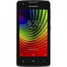 Smartphone Lenovo Vibe A A1000M Dual Sim Black - Telefon mobil Lenovo, Negru, 4GB, Neblocat, Quad core