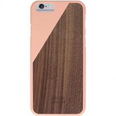 Husa Protectie Spate Native Union Clic Luxury Blossom Walnut Roza pentru Apple iPhone 6 - Husa Telefon