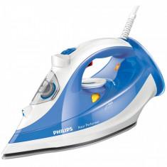 Fier de calcat Philips GC3810/20 Azur Performer 2400W alb / albastru, SteamGlide
