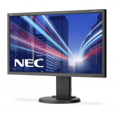 Monitor LED IPS NEC MultiSync E243WMi 23.8 inch 6 ms Black, 23 inch