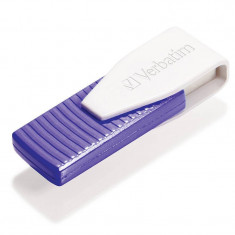 Memorie USB Verbatim Swivel 64GB USB 2.0 Purple, 64 GB
