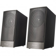 Sistem audio 2.0 Trust Ebos Black - Boxe PC