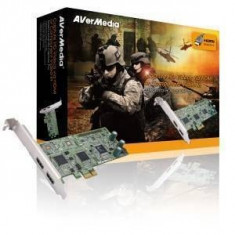 Placa Captura Avermedia DarkCrystal HD Capture Pro C027 - TV-Tuner PC
