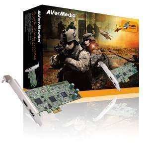 Placa Captura Avermedia DarkCrystal HD Capture Pro C027 foto