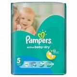 Scutece PAMPERS Active Baby 5 Value Pack 42 buc - Scutece unica folosinta copii