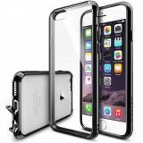 Husa Protectie Spate Ringke FUSION Black plus folie protectie pentru Apple iPhone 6/6S - Husa Telefon