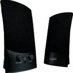 Sistem audio 2.0 Logic LS10 2W black