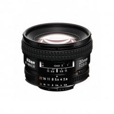 Obiectiv Nikon AF Nikkor 20mm f/2.8D - Obiectiv DSLR