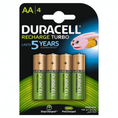 Acumulator Duracell AAK4 2500mAh StayCharged 4 bucati Verde - Baterie Aparat foto