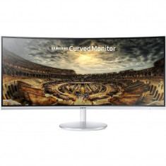 Monitor LED Curbat Gaming Samsung LC34F791WQUXEN 34 inch 4ms White