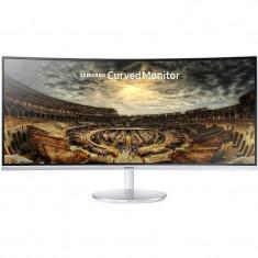 Monitor LED Curbat Gaming Samsung LC34F791WQUXEN 34 inch 4ms White, Mai mare de 27 inch