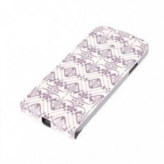 Husa Flip Cover Tellur TLL111182 negru / alb pentru Samsung Galaxy S5 - Husa Telefon