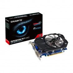Placa video Gigabyte Radeon R7 240 OC 2GB DDR3 128bit - Placa video PC Gigabyte, PCI Express