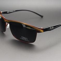 Ochelari de soare AUDI UV Polarizati, Unisex, Negru, Metal, Polarizare, Polarizate