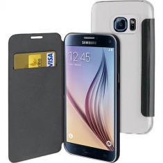 Husa Flip Cover Muvit MUEAF0210 Folio Black pentru Samsung Galaxy S7 - Husa Telefon Muvit, Samsung Galaxy S7 Edge