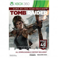 Joc consola Square Enix Tomb Raider : Game of The Year Xbox 360 - Jocuri Xbox 360 Square Enix, Actiune, 18+