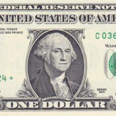 Bancnota Statele Unite ale Americii 1 Dolar 2001 - P509 UNC ( replacement -