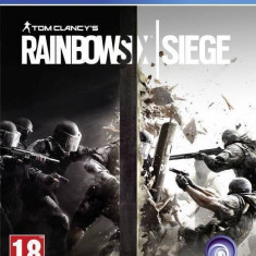 Joc consola Ubisoft Rainbow Six Siege PS4 - Jocuri PS4 Ubisoft, Shooting, 18+
