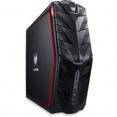 Sistem desktop Acer Predator G1-710 Intel Core i7-6700 16GB DDR4 3TB HDD 256GB SSD nVidia GeForce GTX 1080 8GB Windows 10 Black