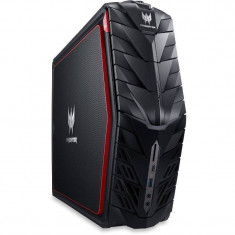 Sistem desktop Acer Predator G1-710 Intel Core i7-6700 16GB DDR4 3TB HDD 256GB SSD nVidia GeForce GTX 1080 8GB Windows 10 Black - Sisteme desktop fara monitor