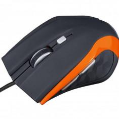 Mouse gaming Modecom MC-M5 Black / Orange, USB, Optica, Peste 2000
