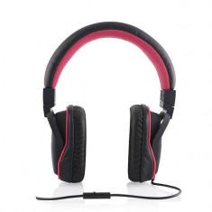 Casti Modecom MC-880 Big One Pink, Cu fir, Mufa 3, 5mm