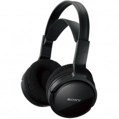 Casti Sony RF811RK Black, Casti On Ear, Wireless, Active Noise Cancelling