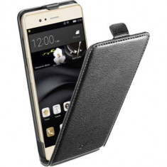 Husa Flip Cover Cellularline FLAPESSP9LITEK Essential Black pentru Huawei P9 Lite - Husa Telefon