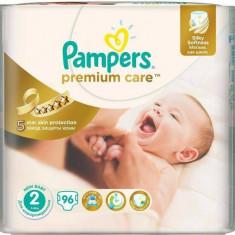 Scutece PAMPERS Premium Care 2 Jumbo Pack 96 buc - Scutece unica folosinta copii