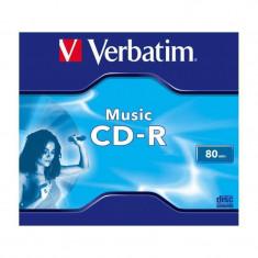 Mediu optic Verbatim BLANK CD-R MUSIC 80MIN