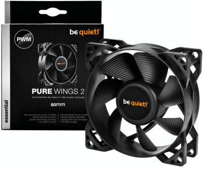Ventilator Be quiet! Pure Wings 2 80mm foto