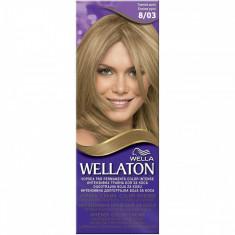 Vopsea par WELLATON 803 Toamna aurie - Vopsea de par, Blond, Permanenta