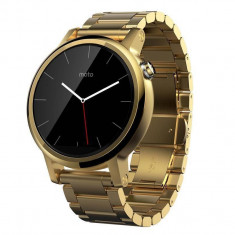 Smartwatch Motorola Moto 360 2nd generation 42 mm Men's Metal Gold