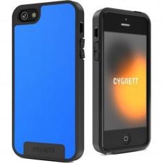 Husa Protectie Spate Cygnett CY0867CPAPO Apollo Wake pentru iPhone 5 Albastru - Husa Telefon CYGNETT, Gel TPU, Carcasa