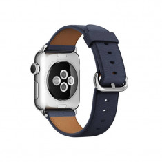 Curea smartwatch Apple Watch 38mm Midnight Blue Classic Buckle