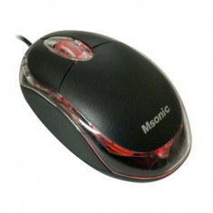 Mouse Vakoss Optical Msonic MX264K Black, USB